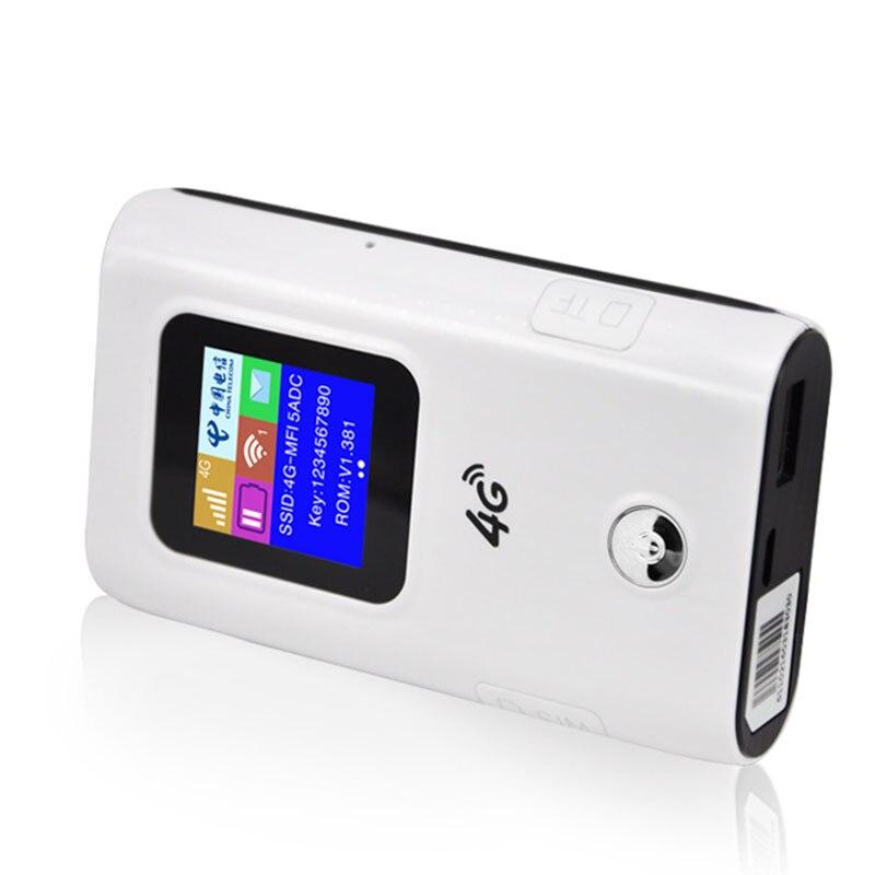 4G Wifi routeur voiture Hotspot Mobile sans fil haut débit poche Mifi déverrouiller Lte Modem sans fil Wifi Extender répéteur Mini routeur - 5