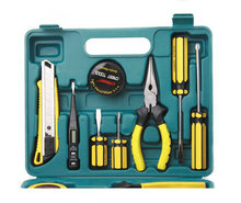 Multifunctional 13PCS Hammer Plier Tape Ruler Screwdriver Wrench Knife Combined Hand Tool Set