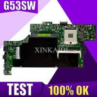XinKaidi  G53SW Laptop motherboard for ASUS G53SW G53SX G53S G53 VX7 VX7S Test original mainboard|Motherboards| |  -