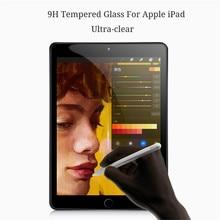 купить 9H Tempered Glass For iPad air 2 Screen Protector 9.7 for ipad 5 6 air 2 Scratch proof Anti blue light Screen protector Film дешево