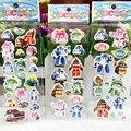 6 листов Автомобиля Poli Игрушки Пузырь Мультфильм Наклейки Корея Робот Прокат Трансформации Игрушки Рождество Гифс Для Детей