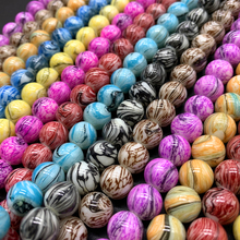 50/30/20pcs/lot 6/8/10mm New Hot Glass Beads Fits for Handmade DIY Necklace Bracelet Jewelry Making Wholesale