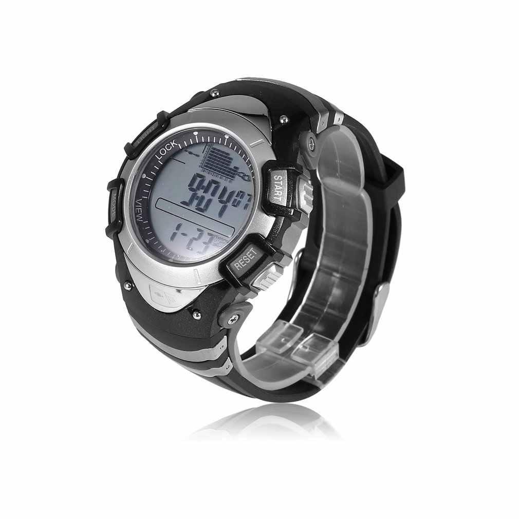 SUNROAD многофункциональные водонепроницаемые цифровые часы спортивные наручные часы для мужчин барометр термометр высотомер рыболовные часы