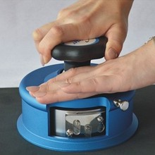 Над пробный нож дисковый пробоотборник sampler круглый весовой тестер, круглый нож для образца ткани coth