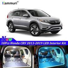 KAMMURI 10X ОШИБОК белый интерьер светодиодный светильник посылка комплект для 2013- Хонда сrv CR-V светодиодный интерьер