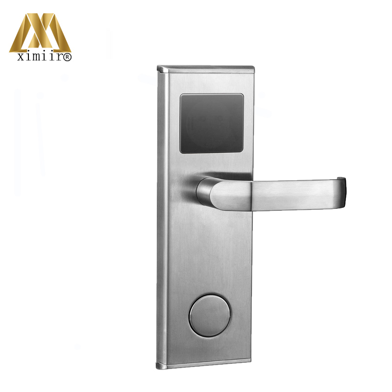 Good Quality Electronic Home Door Lock System Swipe Card Stainless Steel Smart Hotel Door Lock With RFID Card HM-201