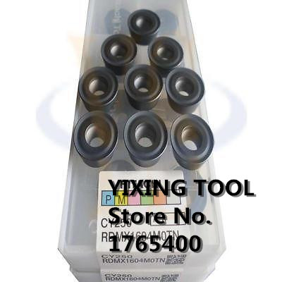 PROMOTION New 10PCS RDMT10T3MOTN CARBIDE INSERTS CNC MILLING 10pcs taegutec tpmt16t304 pc tt8125 carbide inserts cnc milling bits new
