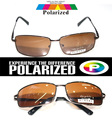 2017 rectangular brown Driver's TAC enhanced polarized polaroid polarised golf fishing  UV 400 men women sunglasses