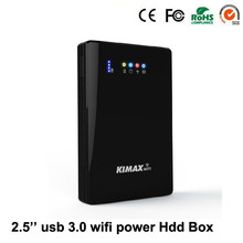 "Multi función wifi router Powerbank 2.5 ""USB 3.0 Sata HDD Recinto sin HDD de 1 TB de Disco Duro"