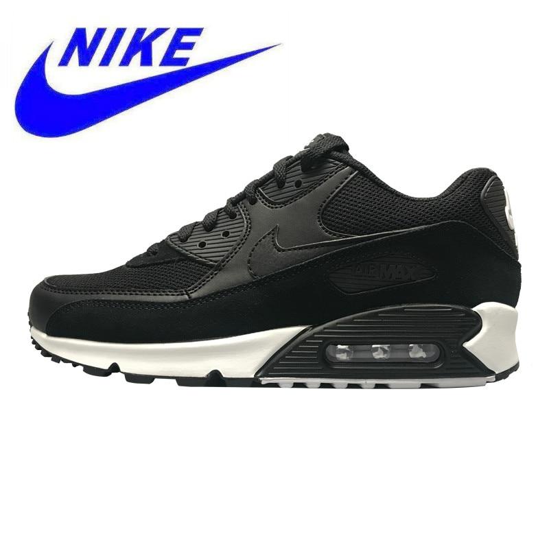 € 171.28  Transpirable resistente al desgaste NIKE AIR MAX 90 esencial de los hombres zapatos al aire libre Zapatos negro no slip 537384 077 en