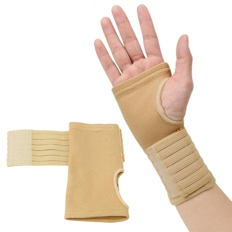 US $3 35 |MaxKare 1 pair Bandage Wrist Support Protect Wristband Men Women  Adult Bracers Basketball Football Sports Protection Wrist-in Wrist Support