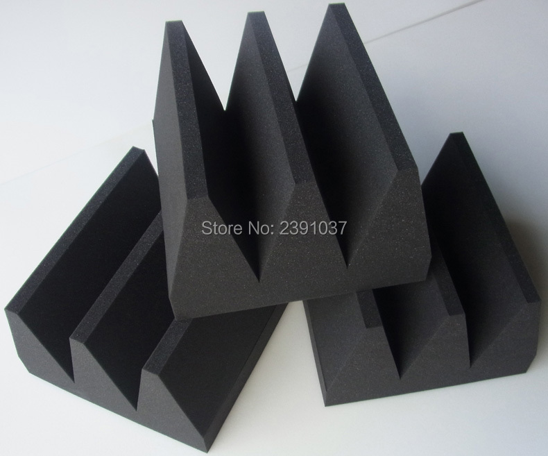 Sound absorption wedge foam 6pieces 30x30x20cm Studio recording room soundproof acoustic foam made in China