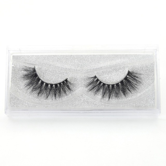 Visofree Eyelashes 3D Mink Lashes Luxury Hand Made Mink Eyelashes Medium Volume Cruelty Free Mink False Eyelashes Upper Lashes 5