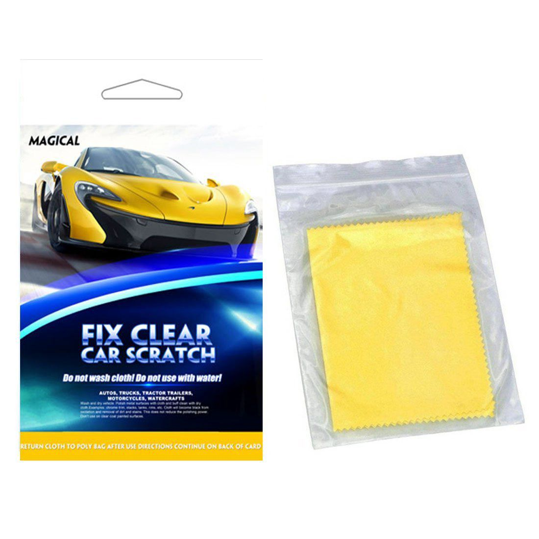 Magic Repair Remove Car Scratch Repair Cloth Paint Scratch Unworn Surface Repair 1 Package