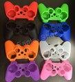 10 Colores Funda de Silicona Cubierta Protectora de La Piel Del Abrigo para el Controlador de PS3 Joystick Gel De Goma Envío Gratis