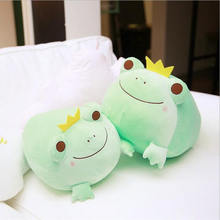 Creative Lovely Frog Prince Plush Toys Stuffed Animal Doll Soft Pillow Kids Children Gift