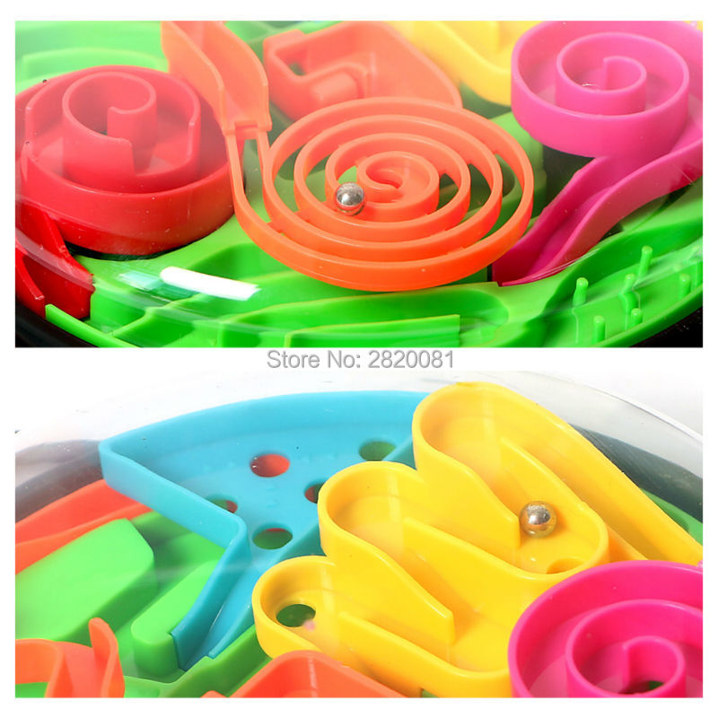 3D ball maze magic brain teaser family funny game 2colors,steering wheel model maze ball puzzle toy for all kid intellect toy