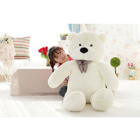 New Arrival Low Price PlushToys Large Size 160CM Teddy Bear Big Embrace Bear Doll Lovers Christmas