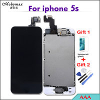 100 Test AAA Quality LCD Full Assembly For IPhone 5s Touch Screen Digitizer Display Complete Set