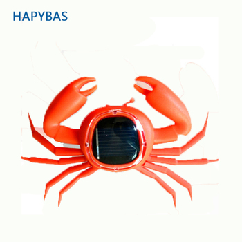 ids Solar Toys Power Energy crab Children Teaching Fun Gadget Toy Gift For Kids