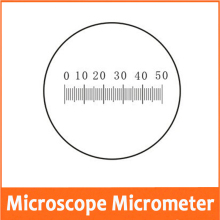 0.1MM Microscope Stage Eyepiece Objective Lens Micrometer Glass slide Reticle Scale Measuring Microscope Micrometer Calibration цена