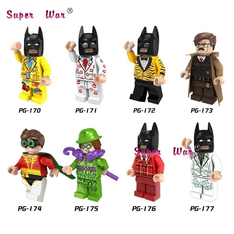 80pcs building blocks 2017 Guardians of the Galaxy Vol. 2 Star-Lord DC Batman Series Movie Robin bricks for children toys