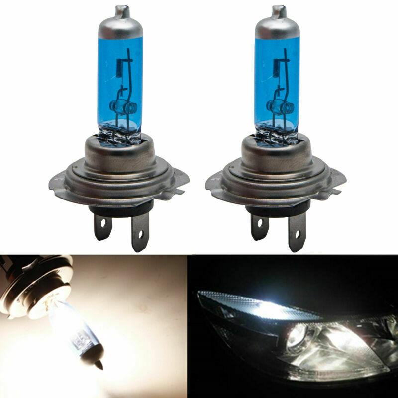 100w Super White Xenon Upgrade HID Front Fog Lamp Light Bulbs Pair