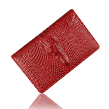 MIWIND Women Wallet Female Coin Purses Holders High Quality Leather 3D Embossing Alligator Fashion Crocodile Clutch Wallets