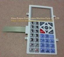 03150210 Echt Ricoma borduurmachine onderdelen RCM 1201PT 1501PT serie bedieningspaneel Toetsenbord Membraan Schakelaar