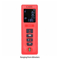 40M/60M Portable Size Handheld Digital Laser Distance Meter Electronic Distance Measure Tool Range Finder