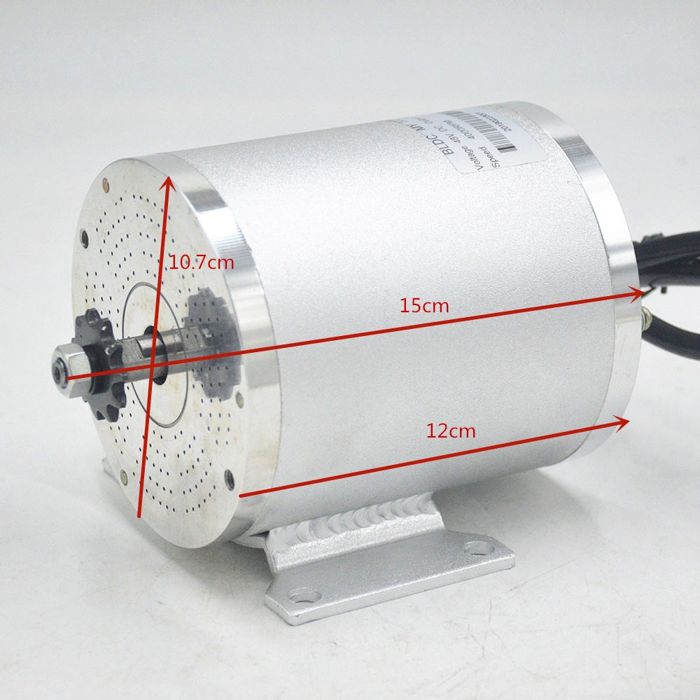36V 48V 1000W Electric Motor Brushless BLDC MOTORS MY1020 Scooter eBike Engine Modifications DIY kit for