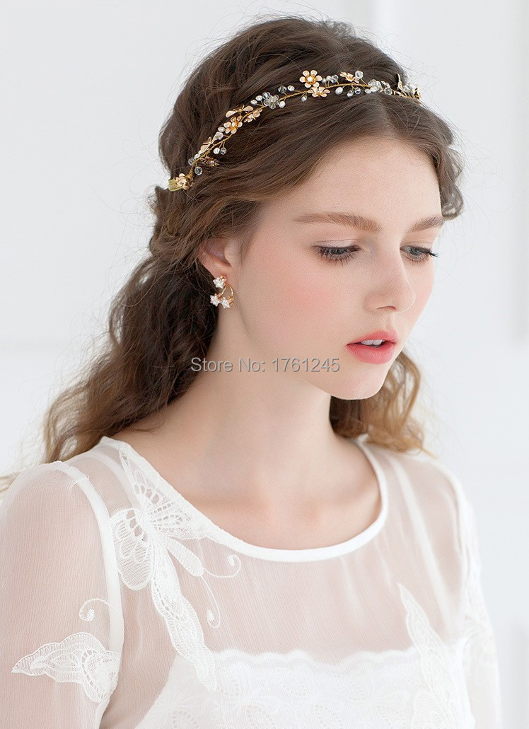 hair jewelry hairband with rhinestone