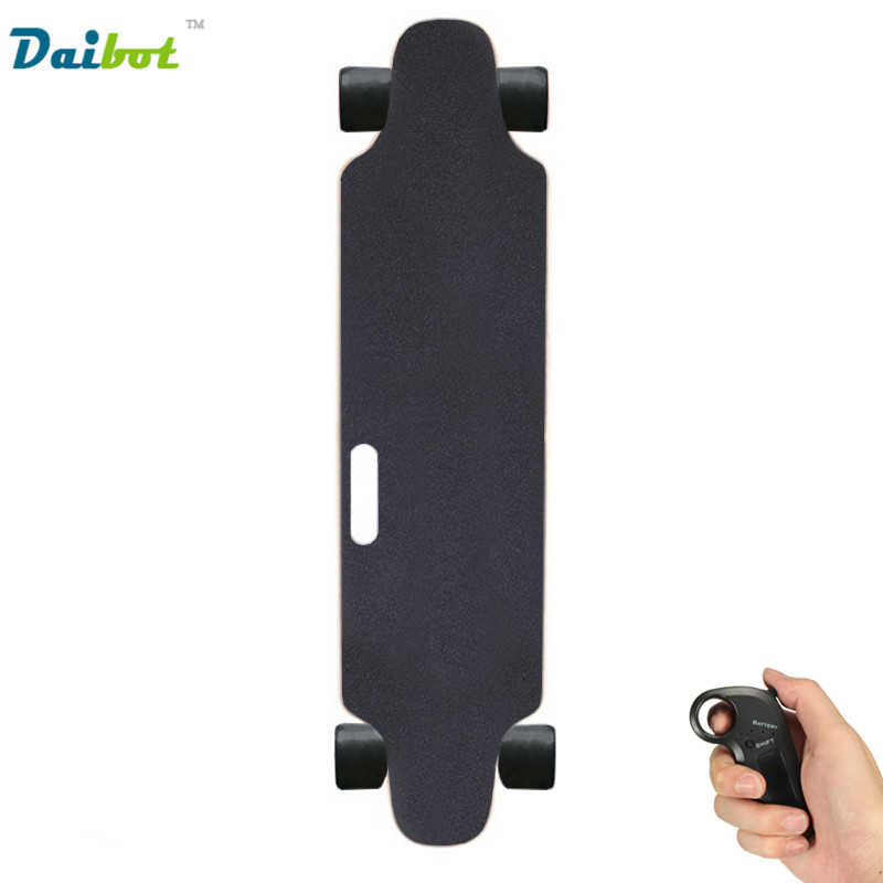 USA Belgium Stock New 4 Wheel Adults Electric Skateboard 300W with Handle Bluetooth Control Hoverboard Longboard Kick Scooters