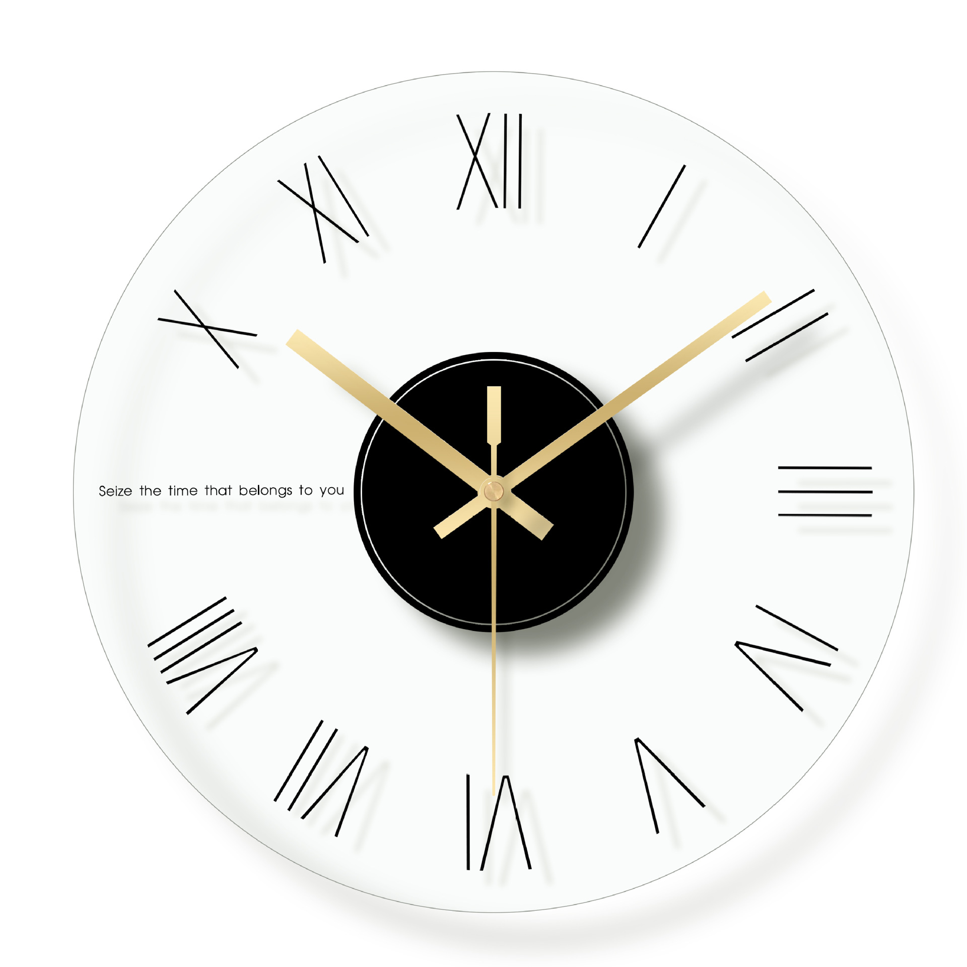 Wanduhr Glas Modern Creative Glass Wall Clock Modern Design Living Room