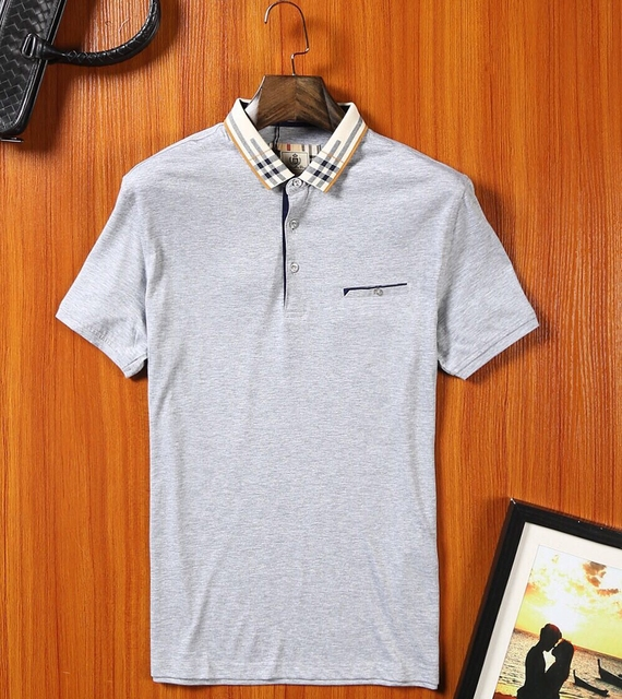 2016 Real New For Ralphlauren Man 2017 Brand Men Solid Cotton Polo Shirt For Polos Short Sleeve Fashion High Quality Big