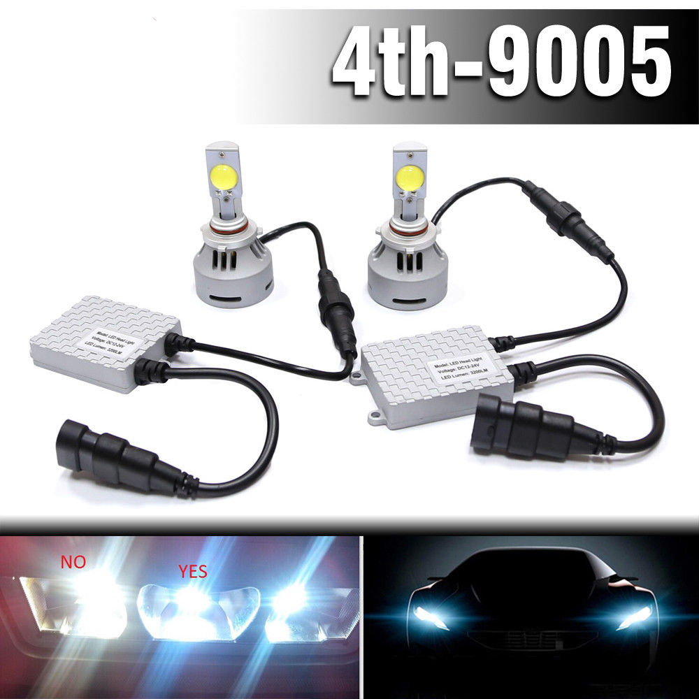 цена на 2x 4HL 9005 3200LM HB3 9011 9022 with high power Cree MT-G2 LED Headlight Fog Lamp Bulbs headlight fog light