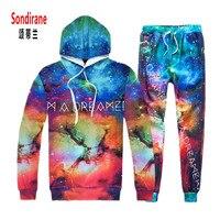 New Fashion Men Women 3D Print I AM A DREAMER Galaxy Space Pattern Joggers Pants Hoodies