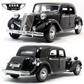 Brand New MAISTO 1/18 Scale Car Model Toys France Citroen 15CV 6 Cyl (1952) Vintage Diecast Metal Car Model Toy For Collection