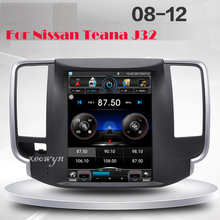 Vertical screen Quad core Android 1024*600 9.7inch Car radio GPS Navigation for Nissan teana J32 2008-2012