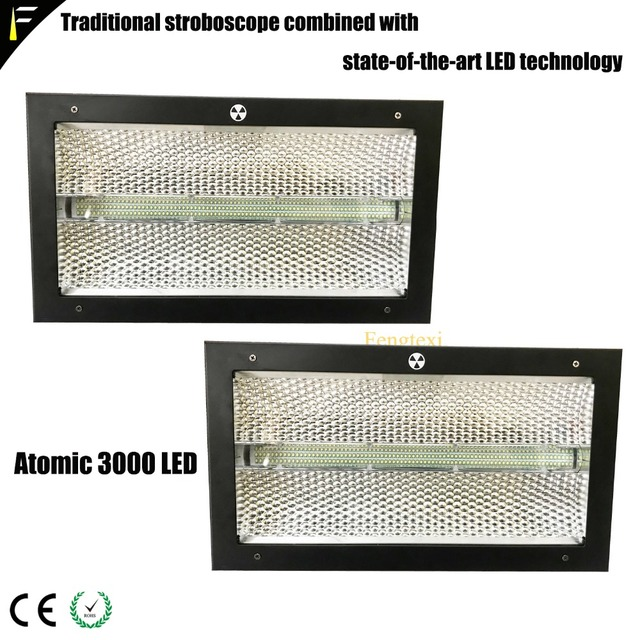 3/4/14channel Atomic 3000 LED Strobe Flash Background Light with 228*3w White+64*0.6w RGB LED Color Dynamic Candy Light Effect