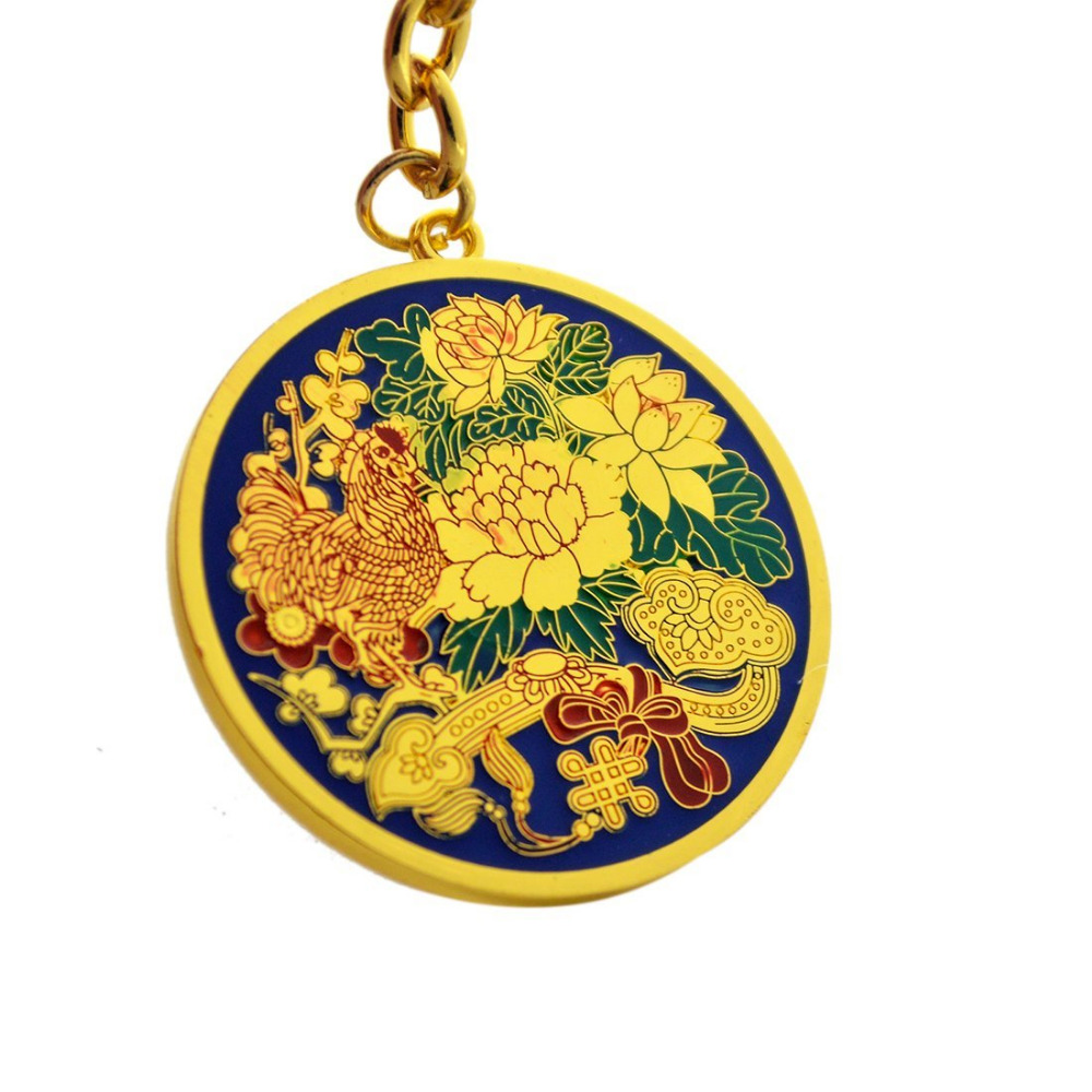 2017 Yeni Feng Shui İllik Bahar Amulet Anahtarlığı - Ev dekoru - Fotoqrafiya 3