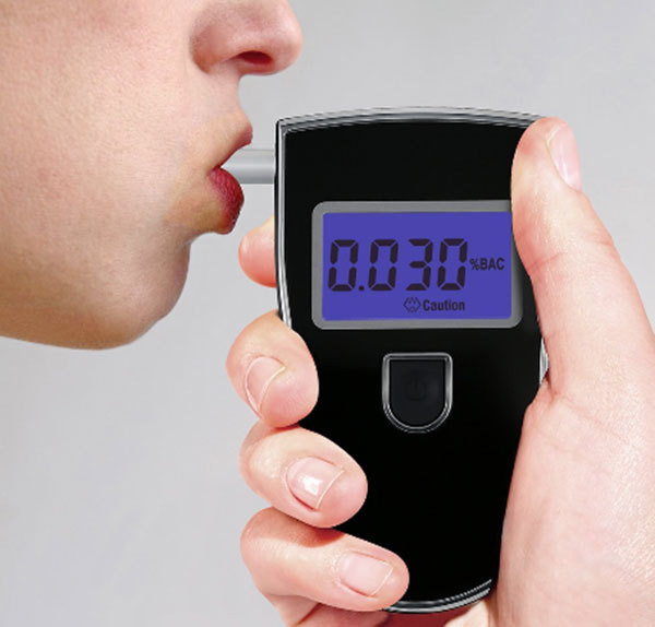 Professional Digital Breath Alcohol Tester Breathalyzer Alcoholmeters LCD Display Alkohol Tester Digital Breath Analyzer