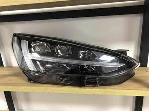 Image 3 - 2 stücke Auto Styling für Ford Focus Scheinwerfer 2019 jahr Focus LED Scheinwerfer DRL Kopf Lampe Engel Bi Xenon Strahl zubehör