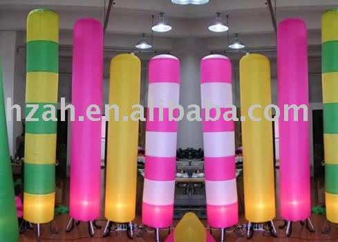 Inflatable Lighting Pillar/advertising Pillar/party Deco/include Fan,LED