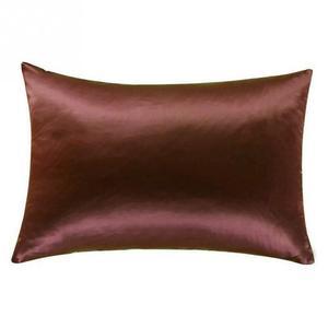 Image 2 - 1 قطعة غطاء وسادة غطاء وسادة من الحرير وسادة 51 سنتيمتر x 76 سنتيمتر 13 ألوان لاختيار ليونة كيس وسادة حريري أعلى جودة كيس وسادة