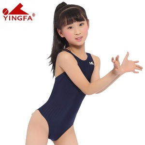 Image 2 - Yingfa Racing Children One Piece Swimsuits Kids Girls Swimwear Sports Baby Bathing Suits Bathers For Training Competition