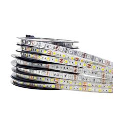Светодиодная лента 5050 RGB Водонепроницаемая 12 В RGB/белый/теплый белый/RGBW/RGBWW Fita Светодиодная лента s Гибкая неоновая лента Luz монохромная