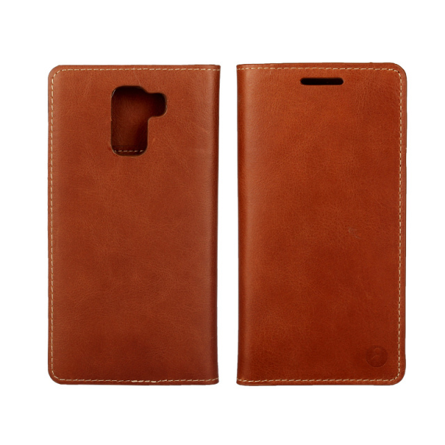 For Huawei Honor 7 Premium Genuine Cowhide Leather Flip Case Cover Wallet with Card Slots Holster