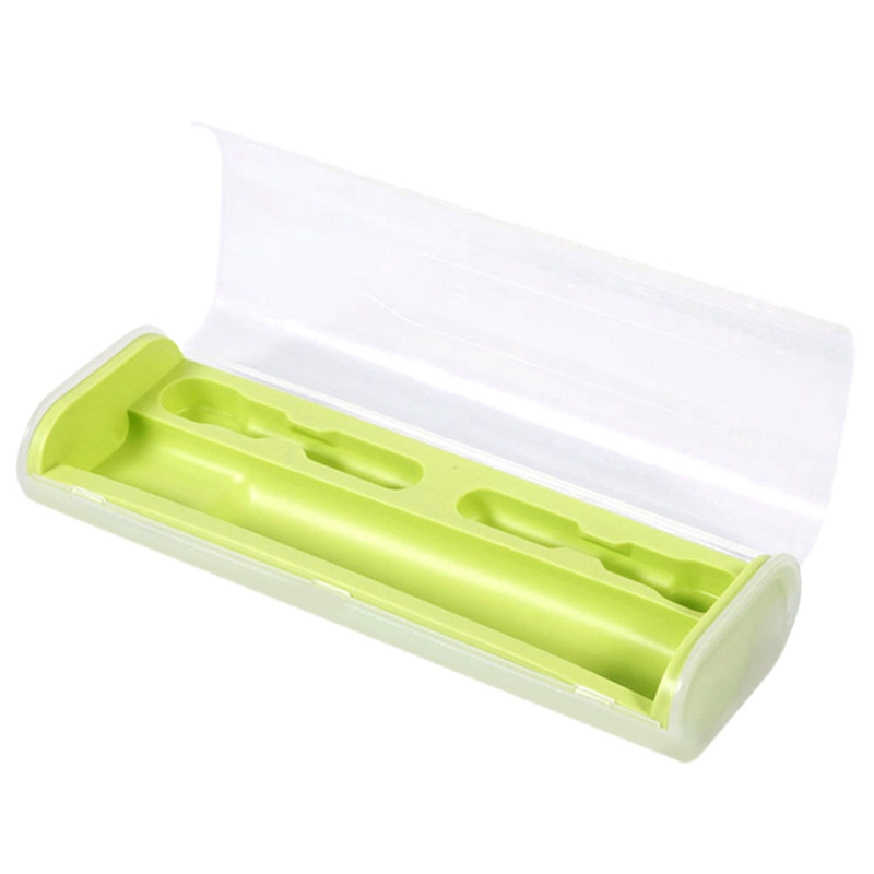 HOT!Portable Electric Toothbrush Holder Case Box Travel Camping For Oral-B 4 Colors(Green) image