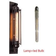 UV/LED Vintage Edison E27 przemysłowe kinkiet kryty Retro